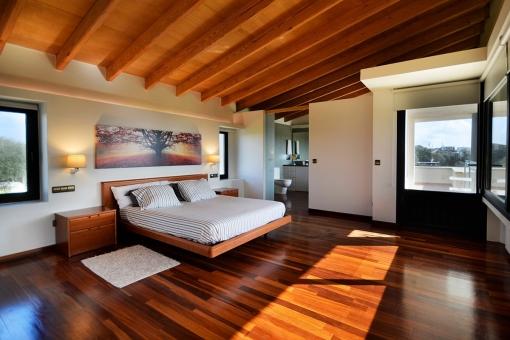 Dormitorio principal muy moderno