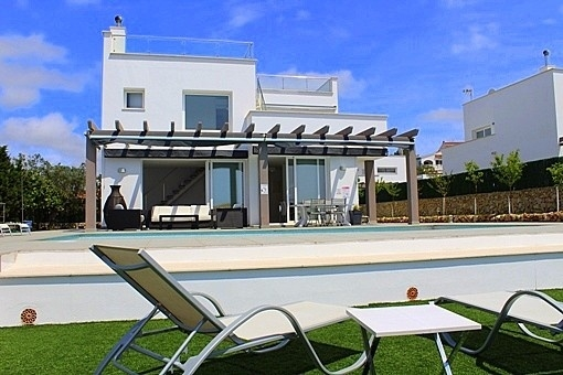 Chalet moderno con chill-out