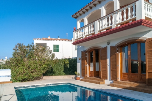 Villa with private pool and garden in Addaia