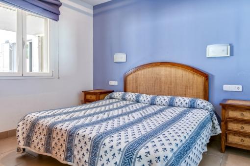 Acogedor dormitorio doble