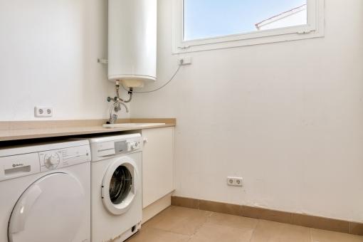 Practical utility room