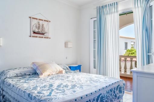 Herrliches Doppelschlafzimmer mit Terrassenzugang