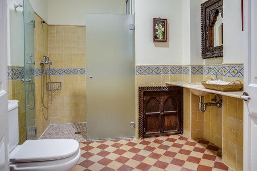 Bathroom in an authentic style