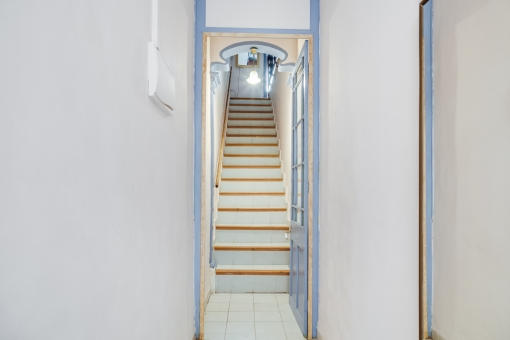 Typical staircase to the house