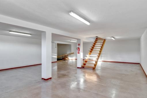 Large basement area