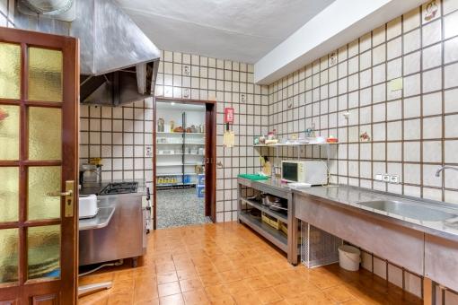 Großzügiger Küchenbereich