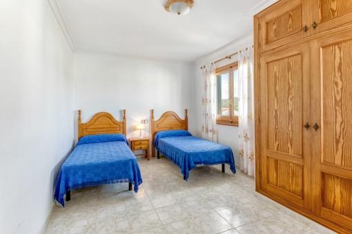 Dormitorio en la primera planta