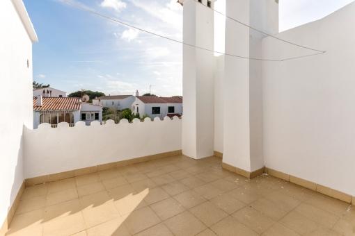 Uno de 2 terrazas