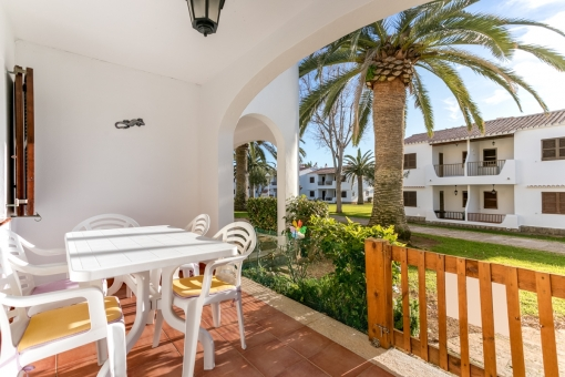 Beautiful, one-level apartment in San Jaime, only a few minutes by foot from a sandy beach