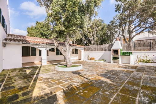Inviting house with inner patio in Alcaufar only a minute away from the beach