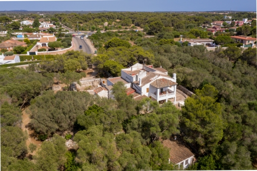 Bird's eye view of the property