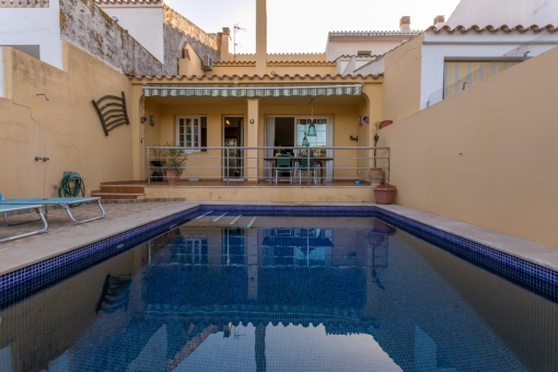 Lovely village house with pool and garage close to the centre of Sant Lluis