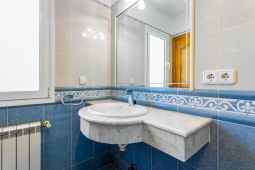 Guest bathroom of the villa