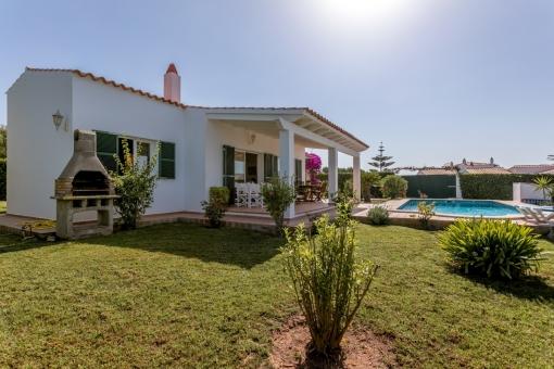 Charming garden of the villa