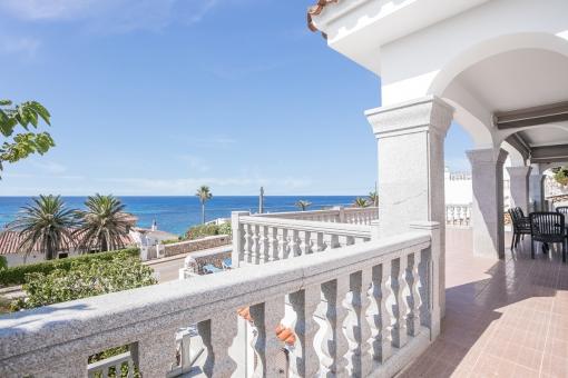 Magníficas vistas al mar desde la terraza
