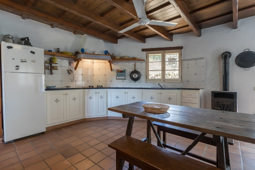 Autentic country house kitchen