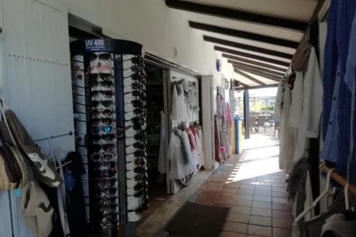 Alternative Ansicht der Ladenfläche