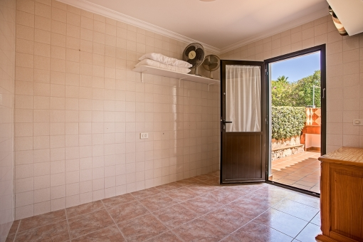 Room with direct terrace access