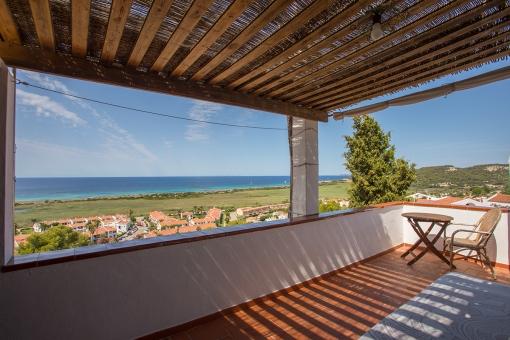 Weitere Meerblick-Terrasse