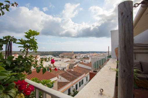 Splendid views from the balcony