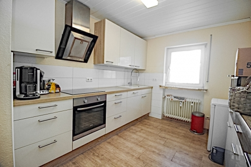 Modern fully equipped kitchen in the ground floor