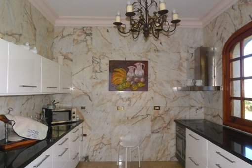 Cooking in the ambience of the marble
