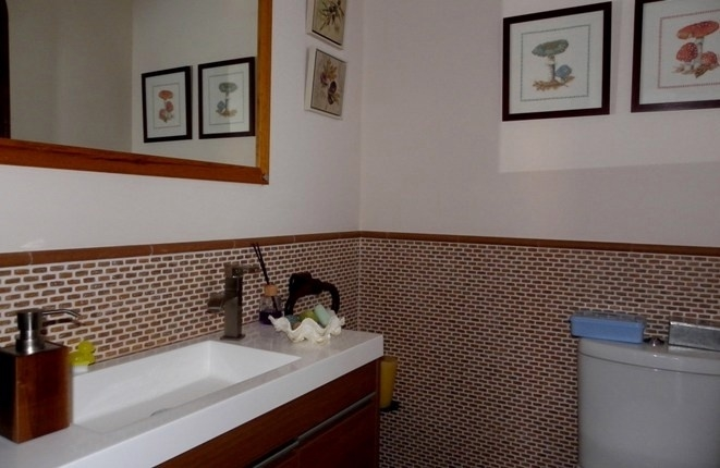 New guest toilet