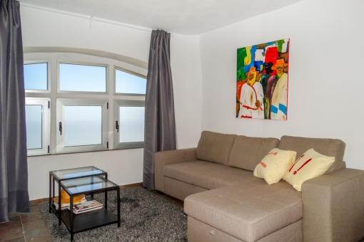 Wohnbereich im Gästeapartment