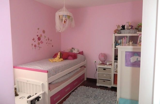 Another bright bedroom