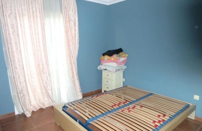 Master bedroom with romantic balcony