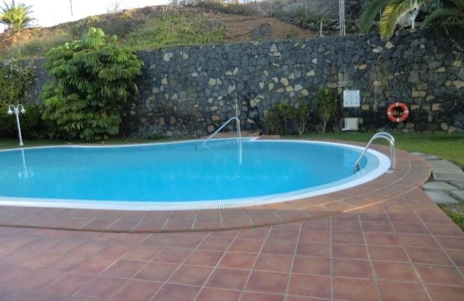 Large heated community pool