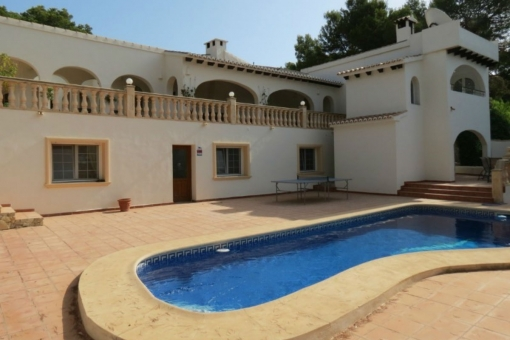 house in Moraira